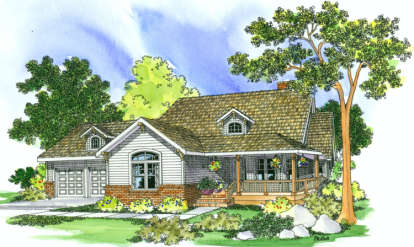 3 Bed, 2 Bath, 2234 Square Foot House Plan - #035-00077