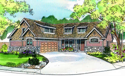 4 Bed, 2 Bath, 2336 Square Foot House Plan - #035-00092