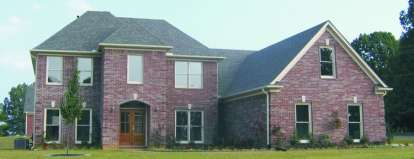 4 Bed, 3 Bath, 2971 Square Foot House Plan - #053-00823