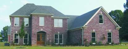 4 Bed, 2 Bath, 3412 Square Foot House Plan - #053-00835