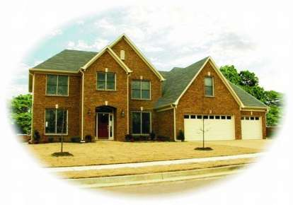 4 Bed, 3 Bath, 3591 Square Foot House Plan - #053-00838
