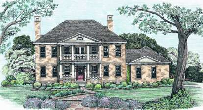 4 Bed, 3 Bath, 2975 Square Foot House Plan #402-01044