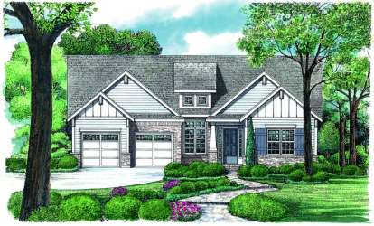 3 Bed, 2 Bath, 2283 Square Foot House Plan - #402-01060