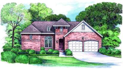 3 Bed, 2 Bath, 2274 Square Foot House Plan - #402-01062