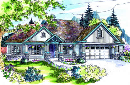 3 Bed, 2 Bath, 2825 Square Foot House Plan - #035-00102