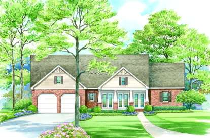 3 Bed, 2 Bath, 2430 Square Foot House Plan - #402-01082