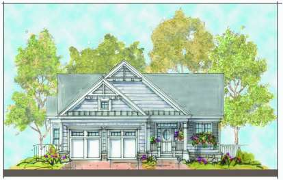 3 Bed, 2 Bath, 2405 Square Foot House Plan - #402-01109
