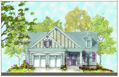 3 Bed, 2 Bath, 2405 Square Foot House Plan - #402-01110
