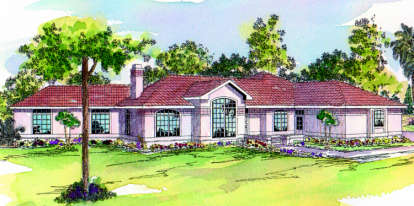 4 Bed, 2 Bath, 2714 Square Foot House Plan - #035-00112