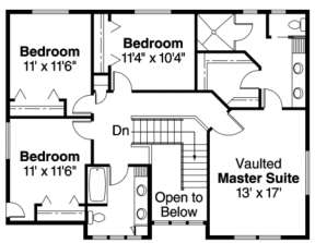 Floorplan 2 for House Plan #035-00116