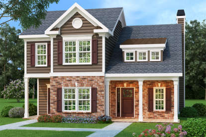 3 Bed, 2 Bath, 1708 Square Foot House Plan - #009-00060