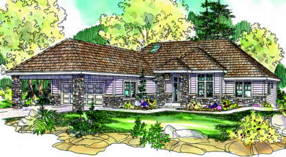 3 Bed, 2 Bath, 2058 Square Foot House Plan - #035-00140
