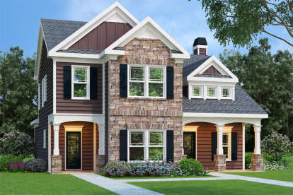 3 Bed, 2 Bath, 1708 Square Foot House Plan - #009-00063