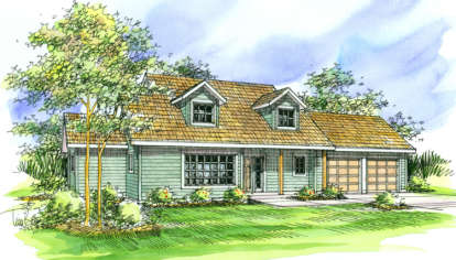 3 Bed, 2 Bath, 1998 Square Foot House Plan - #035-00178