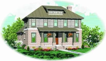 4 Bed, 4 Bath, 2881 Square Foot House Plan - #053-00937