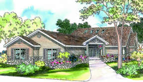 Contemporary House Plan #035-00192 Elevation Photo