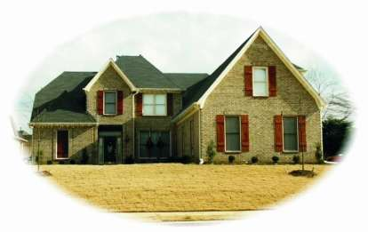 4 Bed, 3 Bath, 3749 Square Foot House Plan - #053-00981