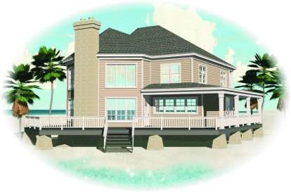 3 Bed, 2 Bath, 2653 Square Foot House Plan - #053-00986