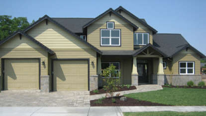 4 Bed, 2 Bath, 2208 Square Foot House Plan - #035-00206
