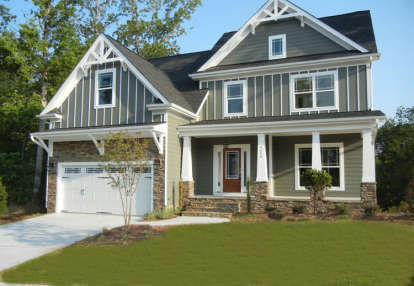 3 Bed, 2 Bath, 2465 Square Foot House Plan - #009-00069