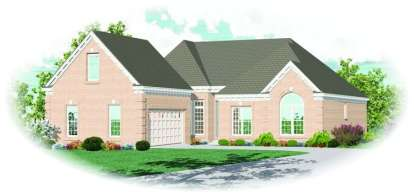 3 Bed, 2 Bath, 2327 Square Foot House Plan - #053-01135
