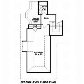 Floorplan 2 for House Plan #053-01137