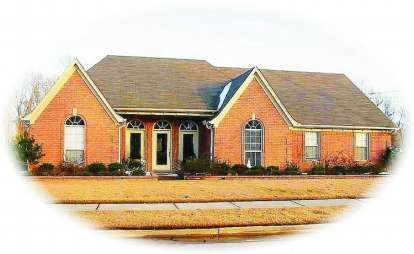 3 Bed, 2 Bath, 2457 Square Foot House Plan - #053-01162