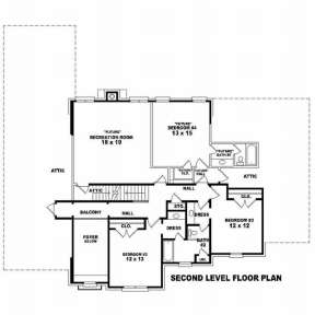 Floorplan 2 for House Plan #053-01265