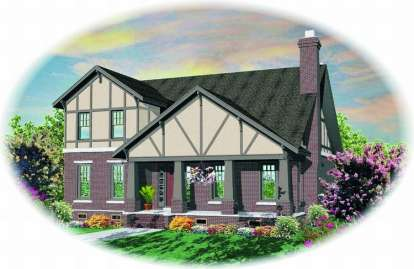 3 Bed, 2 Bath, 2766 Square Foot House Plan - #053-01297