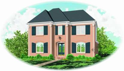 3 Bed, 2 Bath, 3459 Square Foot House Plan - #053-01331