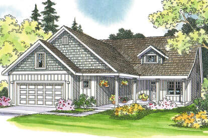 5 Bed, 5 Bath, 2601 Square Foot House Plan - #035-00231