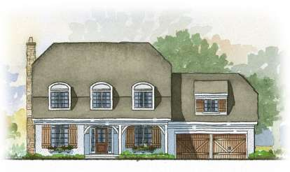 3 Bed, 2 Bath, 2862 Square Foot House Plan - #1637-00006