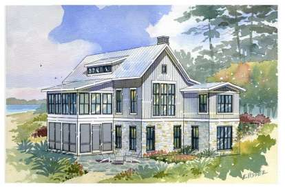3 Bed, 2 Bath, 2299 Square Foot House Plan - #1637-00007