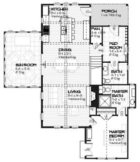 Main for House Plan #1637-00007