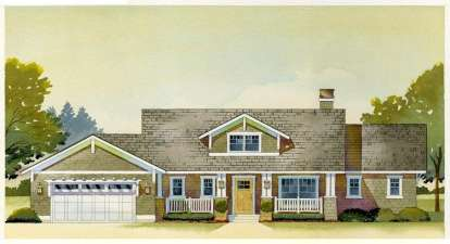 3 Bed, 2 Bath, 3392 Square Foot House Plan - #1637-00017