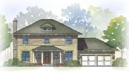 3 Bed, 2 Bath, 2294 Square Foot House Plan - #1637-00020