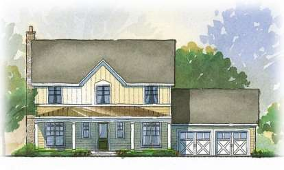 3 Bed, 2 Bath, 2294 Square Foot House Plan - #1637-00029