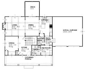 Main for House Plan #1637-00029
