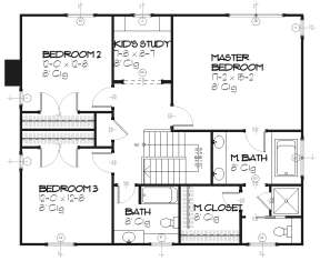 Upper for House Plan #1637-00029