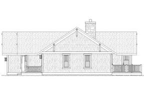 Ranch House Plan #1637-00045 Elevation Photo