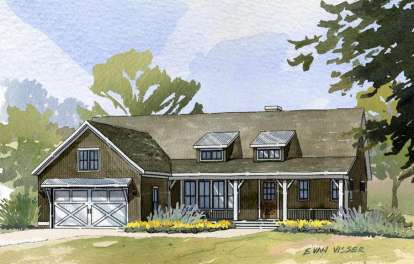 4 Bed, 3 Bath, 3134 Square Foot House Plan - #1637-00062