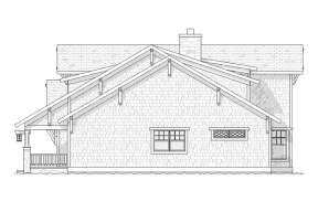 Contemporary House Plan #1637-00067 Elevation Photo
