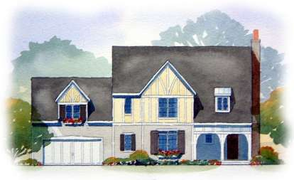 3 Bed, 2 Bath, 2122 Square Foot House Plan #1637-00072