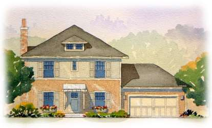 3 Bed, 2 Bath, 1810 Square Foot House Plan - #1637-00076