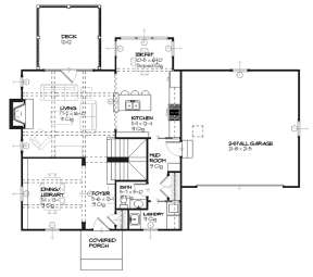 Main for House Plan #1637-00076