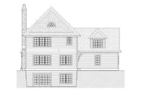 Traditional House Plan #1637-00080 Elevation Photo