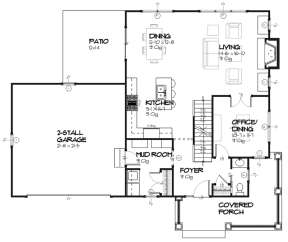 Main for House Plan #1637-00080