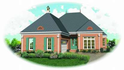 4 Bed, 3 Bath, 2927 Square Foot House Plan - #053-01404