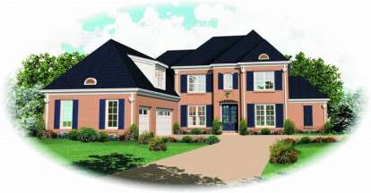 3 Bed, 3 Bath, 2865 Square Foot House Plan - #053-01452