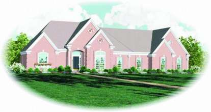 4 Bed, 3 Bath, 3176 Square Foot House Plan - #053-01522